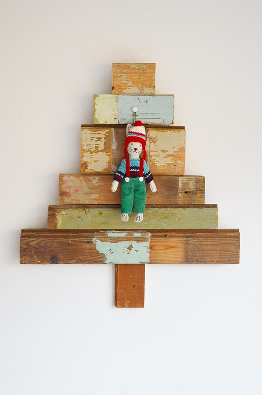 woodwoolstool  x-mas tree