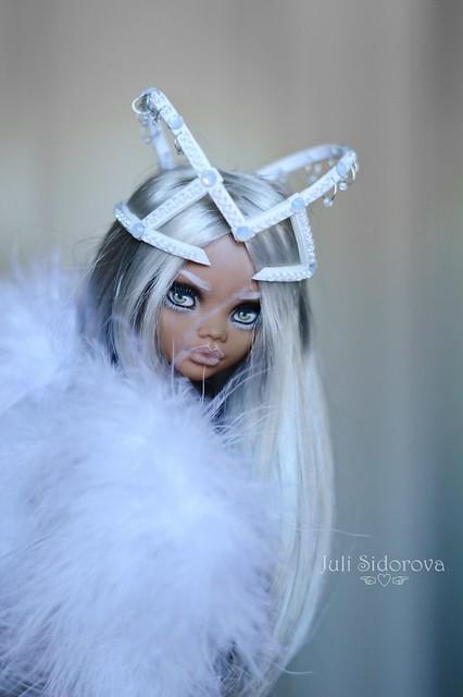 OOAK Clawdeen Rihanna #OOAK # Monster High #JuliSidorova #Clawdeen #Rihanna
