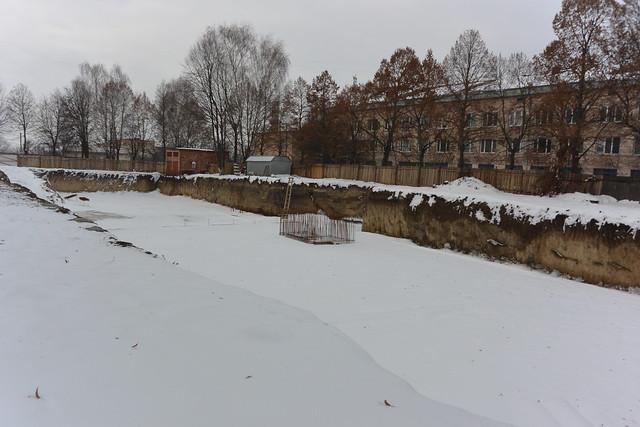 будівництво міська лікарня