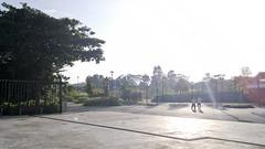Cycling around Sembawang Park and Woodland Waterfront