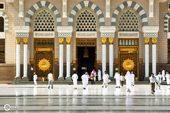 Masjid Nabawi Main Entrance