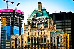 Fairmont Royal York Hotel Toronto Ontario Canada