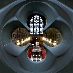 Spy hole...John Rylands library...