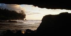 Sunset @ Dolly beach, Christmas Island