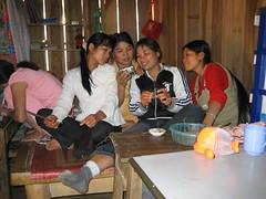 Phu Dao, girls with a camera