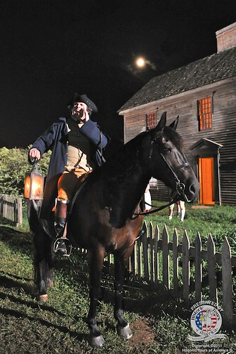 Paul Revere Reenactment | by bostonteapartyships