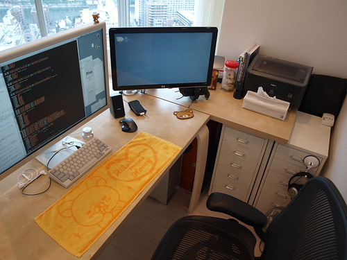 Living Room Workspace Layout
