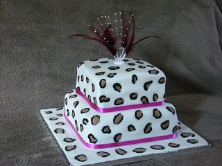 Leopard Print Cake Recipe