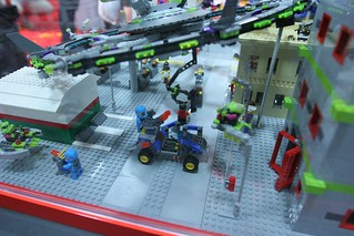 Alien Conquest Display Case - LEGO Booth at Comic Con - 5 | by fbtb