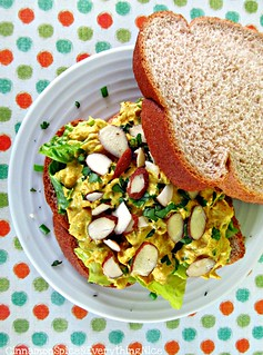 Curried Chicken Salad Sandwich | by CinnamonKitchn
