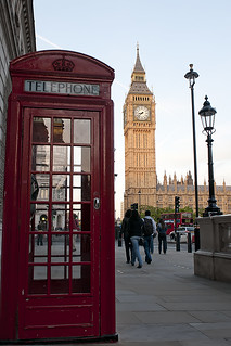 Red Telephone Box & Big Ben | by freestyle17