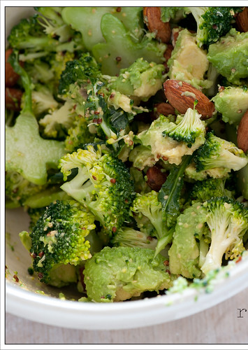 raw broccoli salad5 | by jules:stonesoup