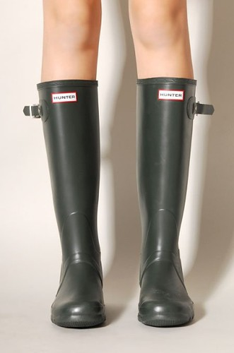 Hunter Black Boots | by Bevjwilson2005