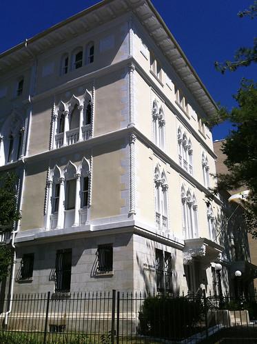 La casa del soldado inter american defense board place for La terraza de la casa del soldado
