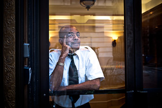 What's on a doorman's mind? | by sjmgarnier
