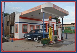 Pete's Route 66 Gas Station Museum | by Loco Steve