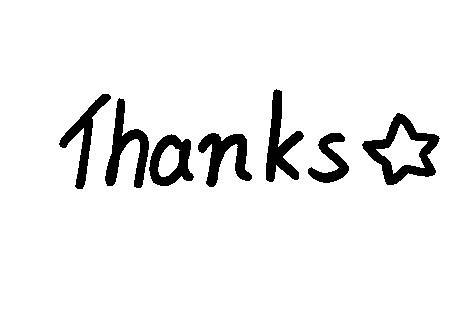 Thanks☆