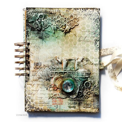 Misted - Art Journal cover | by finnabair