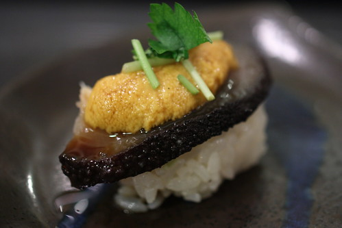 Namako Uni (Sea Cucumber and Uni) | by Kung Food Panda