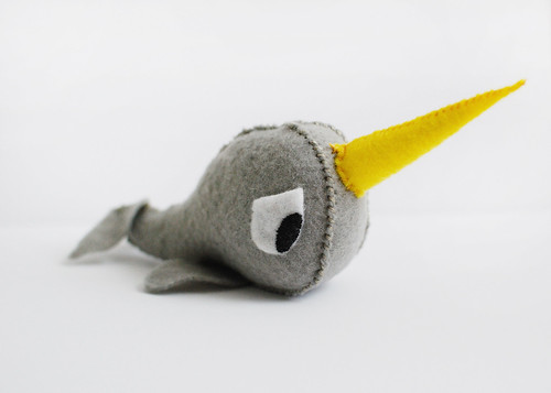 Felt Narwhal | by SOMETHiNG MONUMENTAL
