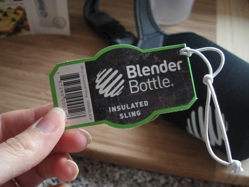 Blender Bottle & Insulated Sling Review | by Courtneys Sweets