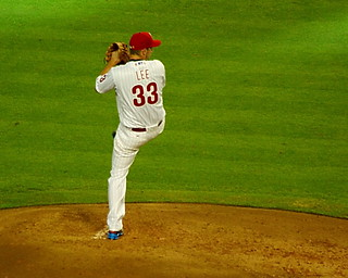 2011 MLB All-Star Game - Cliff Lee from the stretch | by Al_HikesAZ