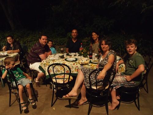 Family festa at Casa Rinaldi House