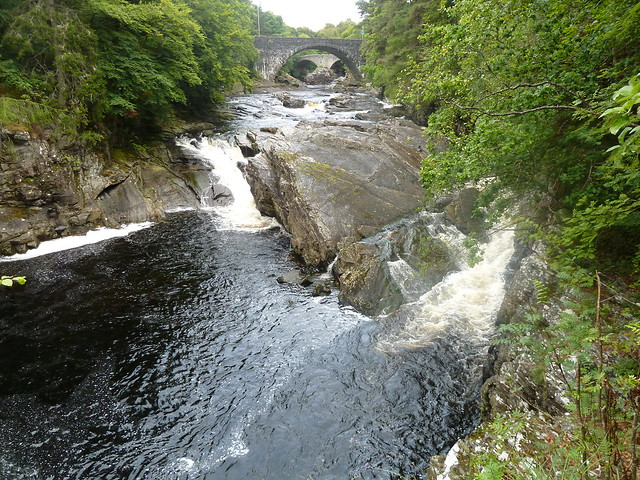 Invermoriston Falls, Great Glen, Scotland.
