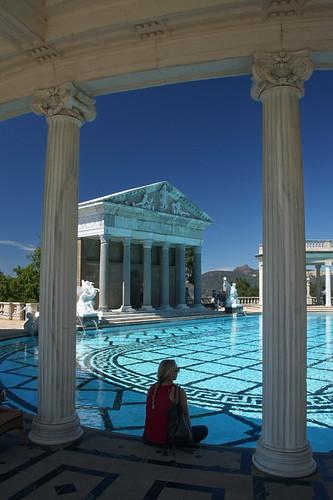 Neptune pool flickr photo sharing - Hearst castle neptune pool swim auction ...