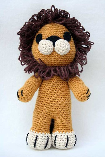 Blog Laura Amigurumi : Leone Tremblay Schema del leone Laura Flickr