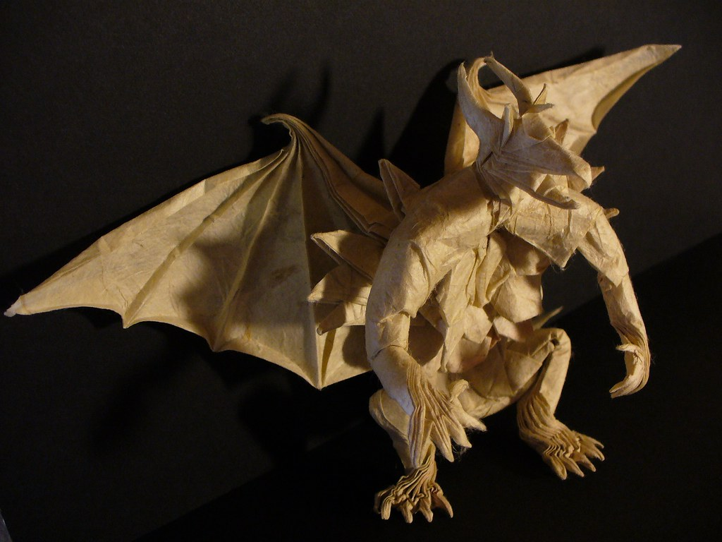 great grandiose and glorious origami gargoyles