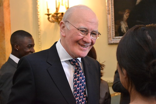 Sir Menzies Campbell at the IOC/School Games reception at 10 Downing Street | by The Department for Culture, Media and Sport