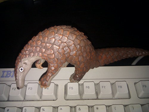 Pangolin toy arrived! | by PLeia2