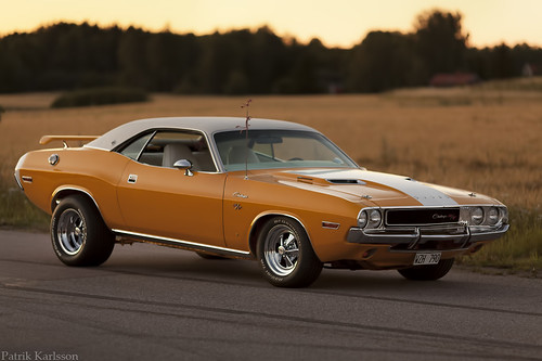 Golden Hour Dodge Challenger R T Se 1970 Published In
