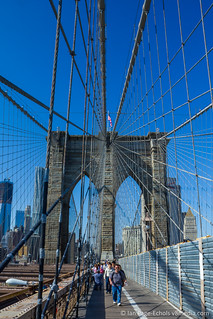 Brooklyn Bridge | by v8media