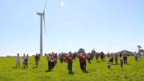 Daylesford Brass Band at Hepburn Wind launch | by Hepburn Wind