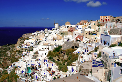 The White Washed Mazes Of Oia | by Jeff Rose Photography