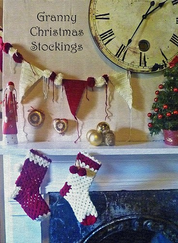 Granny Christmas Stockings | by Loving The Vintage