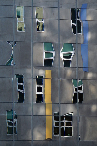 reflection of windows in windows