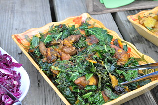 Kale and Sweet Potatoes | by swampkitty