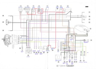 2000 01 ducati monster 900 i e electrical wiring diagram