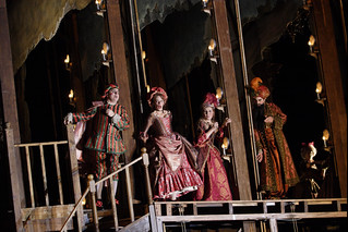 Iain Paton as Poisson, Sarah Castle as Mademoiselle Dangeville, Janis Kelly as Mademoiselle Jouvenot and David Soar as Quinault in Adriana Lecouvreur © ROH / Catherine Ashmore 2011 | by Royal Opera House Covent Garden
