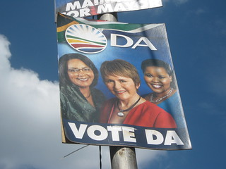 The Democratic Alliance election posters that have people talking. Credit:Zukiswa Zimela/IPS | by IPS Inter Press Service