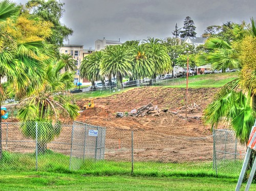 Dolores Park Playground Construction Site | by Walker Dukes