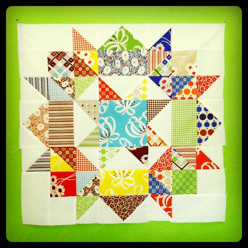 My first Katie Jump Rope Swoon block! Loving it! | by Erin - TwoMoreSeconds