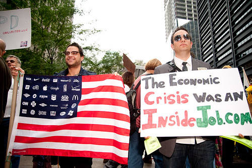 Occupy Wall Street October 1st | by Adrian Kinloch