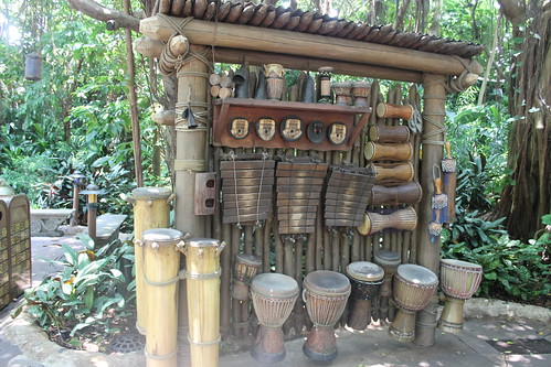 Jungle Drumming Area at Hong Kong Disneyland