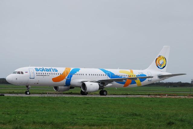 EI-ERU A321 Solaris