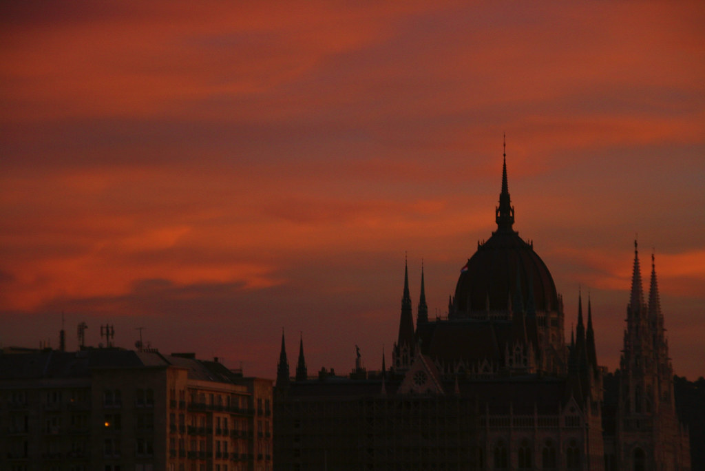 Parliament at Sunset, Budapest