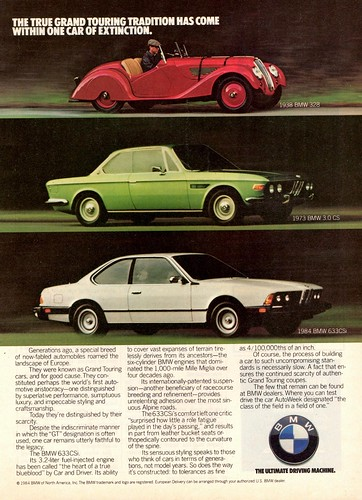 1984 BMW Heritage Ad | by aldenjewell